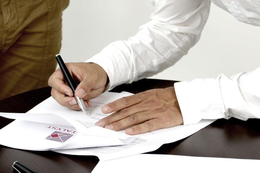La signature électronique chez M2M Financement